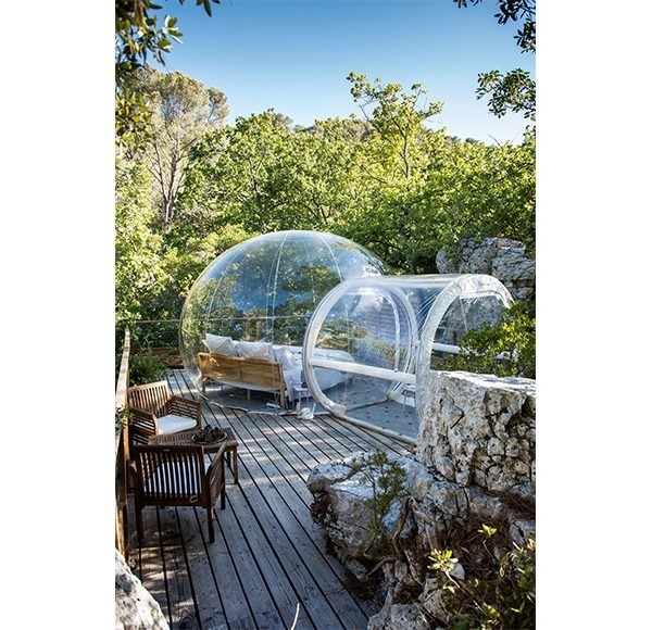 La c line bulles des bois - Dormir dans des bulles ...