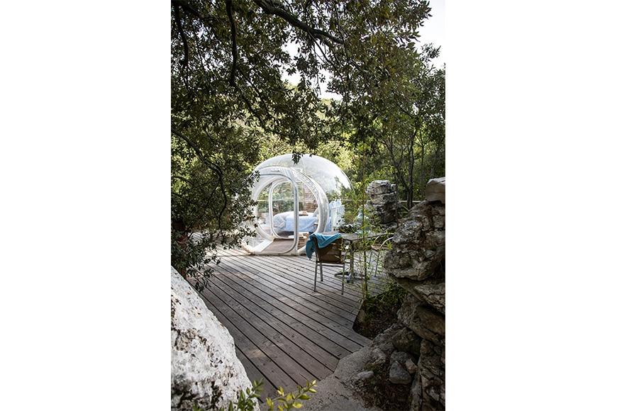 la bienveillante bulles des bois. Black Bedroom Furniture Sets. Home Design Ideas